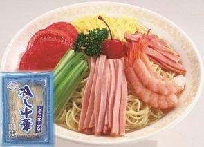 【夏季限定】福岡県産ラー麦 冷し中華(レモンスープ)(2人前)×6入