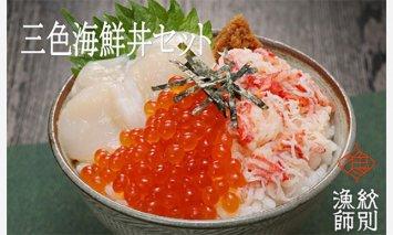 三色海鮮丼セット×10セット