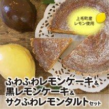 【上毛町産レモン使用】レモンケーキ&レモンタルト