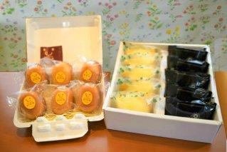 かぐやひめ卵のマドレーヌ&レモンケーキセット