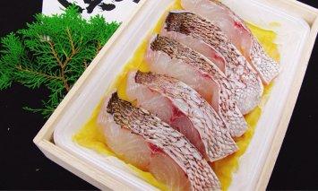 H-9 瀬戸内産 鯛の味噌漬(木箱)5切入