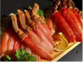 【数量限定】お刺身本タラバ蟹と本ズワイガにしゃぶしゃぶセット(網走加工)【14011-30033206】