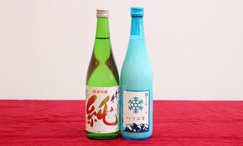 E58 純米吟醸セット(ふじの井×金升)