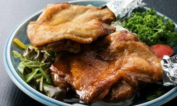 HN051初音の鶏もも肉の塩焼き&たれ焼き【6本セット】