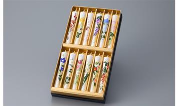 【L-944】大與 絵ろうそく十二カ月を彩る草花 [高島屋選定品]
