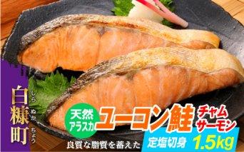 天然アラスカ ユーコン鮭(チャムサーモン)定塩切身【1.5kg】