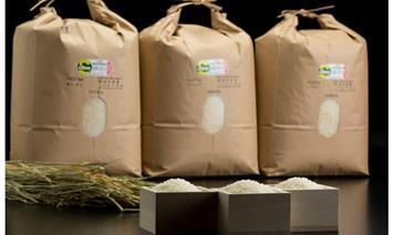 D40-016 特別栽培米 小城のお米 3種類×9kg 食べ比べ