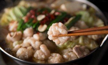 海千 博多もつ鍋食べ比べセット(醤油味・味噌味)