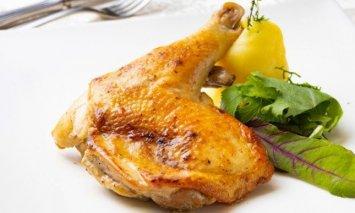 SB006【無添加】骨付きはちきん地鶏のガーリック味2本付(約500g)