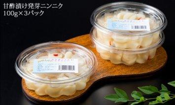 A5-037 発芽ニンニク甘酢漬けセット(3パック)