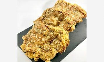 【世界の中津侍からあげ聖林】オリーブオイルで揚げる国産モモ肉のステーキ(1枚300g×3枚)