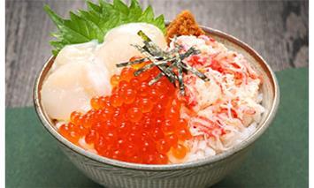 100-32 三色海鮮丼セット(2~3人前)×10セット