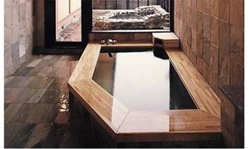 【ふるさと納税限定】天然温泉施設「大平樂」家族風呂入浴とお食事ペアチケット