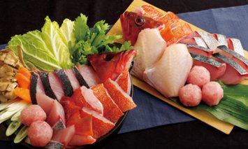 R843 五島列島天然魚おまかせ海鮮鍋(約5人前)