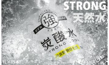 A5-036 【強】炭酸水(ストロングスパークリングウォーター)1L×15本