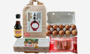 平飼い卵の新鮮卵かけご飯セット&やまや辛子明太子150gセット【上毛町特別企画】