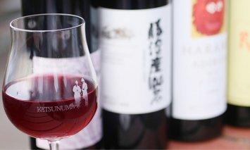 D-604.勝沼ぶどうの丘推奨赤ワイン4本セット