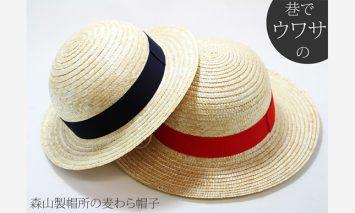 B15-101 職人手作り「麦わら帽子」(2個セット)