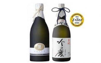 E79 純米大吟醸原酒・大吟醸セット1800ml×2本セット(菊水・市島)
