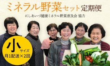 西会津ミネラル野菜セット定期便(小)2回