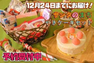 【12月24日までにお届け!】サンタのまち焼きケーキギフトセット