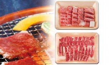 飛騨牛BBQセット・カルビ350g ・もも かた肉 焼き肉用350g
