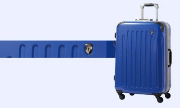 X906 PC7000スーツケース(Mサイズ・ジャックブルー)