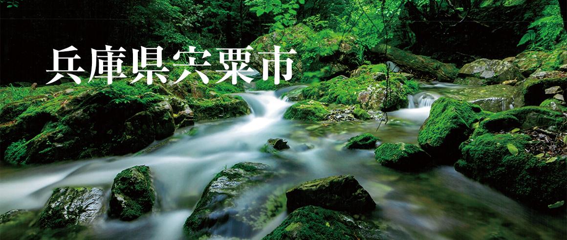 兵庫県宍粟市(しそうし)
